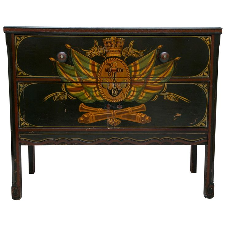Nautical Painted Chest
