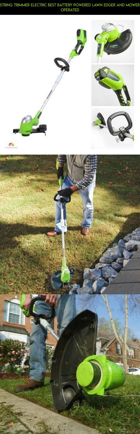 String Trimmer Electric Best Battery Powered Lawn Edger And Mower Operated #tech #shopping #battery #kit #technology #trimmers #racing #operated #gadgets #plans #products #drone #lawn #camera #parts #fpv