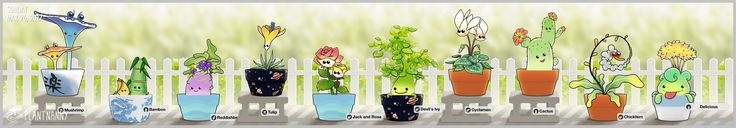 Cheeeeeese~~! Check out my lovely garden! Get yourself a plant at http://fourdesire.com/outer_link?url=http://itunes.apple.com/app/id590216134&l=en_US&m=58D7C972
