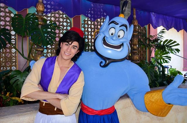 Aladdin and Genie by EverythingDisney, via Flickr