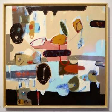"""Saatchi Art Artist Matteo Cassina; Painting, """"Aliens under the pillow"""" #art"""
