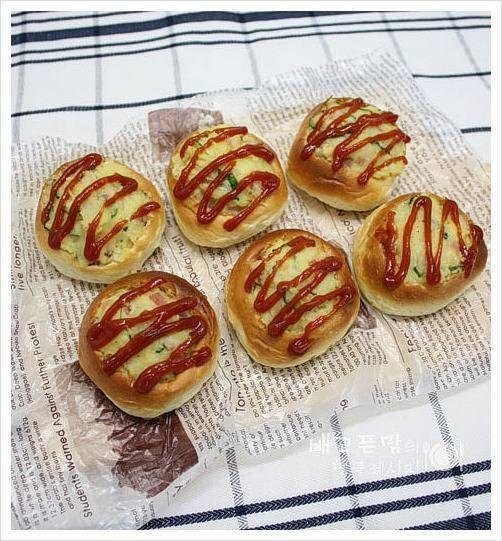 우리아이 간식...치즈 감자샐러드 항아리 빵. – 레시피   Daum 요리