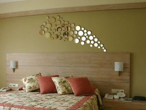 Espelho Decorativo Acrílico Redondo Vários Tamanhos