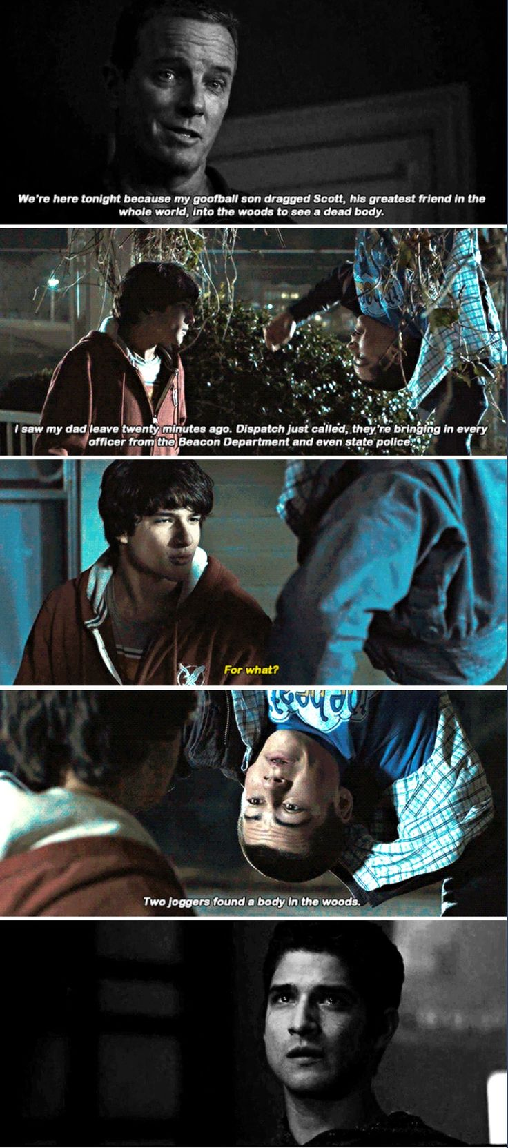 Teen Wolf - sciles - the first sciles moment ever - 1x01