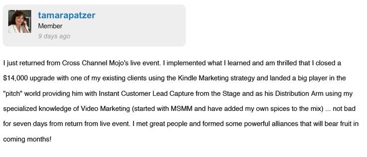 Instant Customer Revolution Testimonials #6