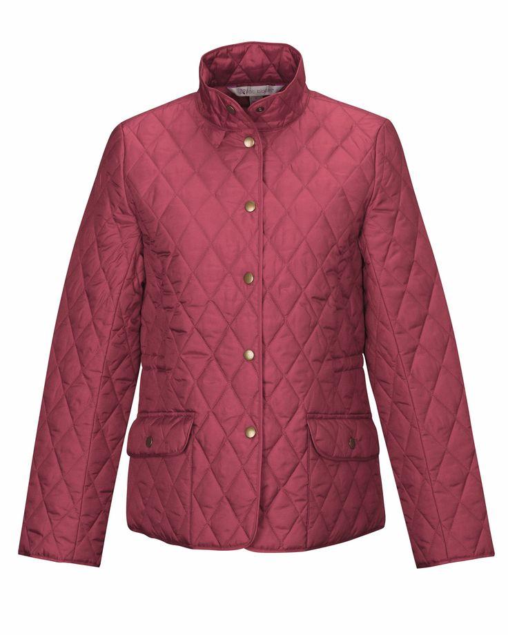 Womens Woven Poly Filled Quilted Full Sleeve JacketLB8223 Bridget #PolyFilled #FullSleeve #LongSleeveJacket #WomensJacket #winterwear