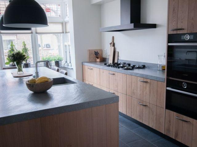 Massief houten keukens