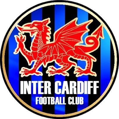 Inter Cardiff FC of Wales crest.