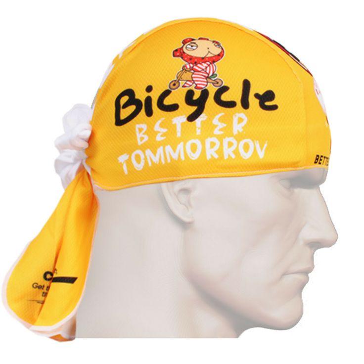 ZIPRAVS - Fixgear Yellow Running Bandana Headband Scarf Wrap Beanie Bandanna, $12.99 (http://www.zipravs.com/fixgear-yellow-running-bandana-headband-scarf-wrap-beanie-bandanna/)