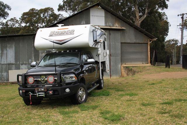 Lance slide on camper 825 model australia