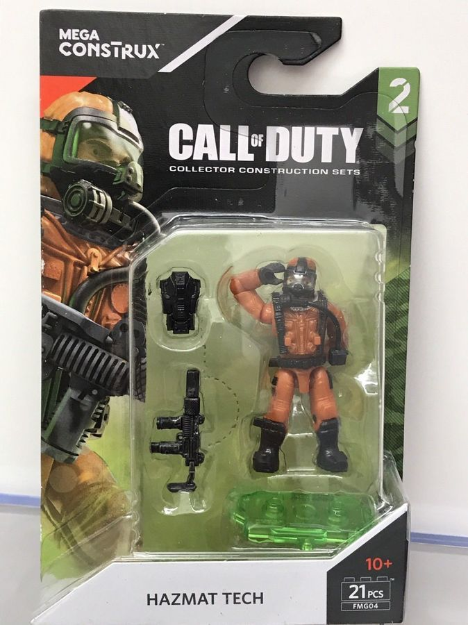 HUGE LOT OF MEGA CALL OF DUTY SERIES 1 SPECIALISTS AND WWII