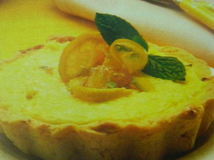 Limonlu Tart Tarifi, yemekgemisi.com #limon #tarttarifleri #aperatifler