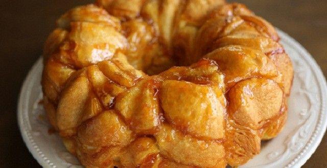Honey-Apricot Monkey Bread | Inspired Dreamer