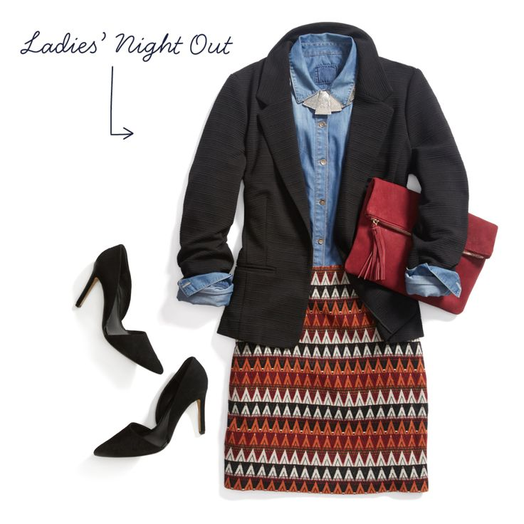 GIRLS' NIGHT OUT OUTFIT