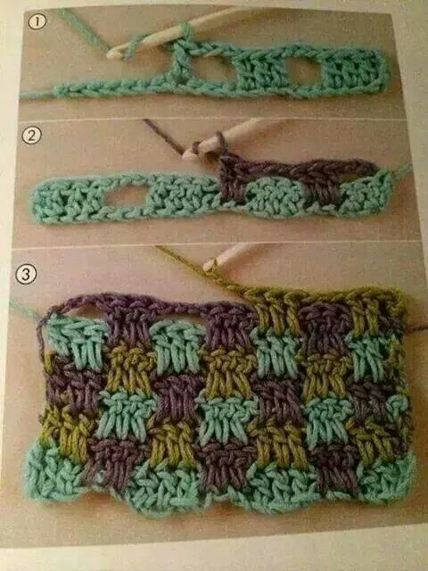 Crochet tig isi
