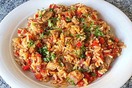 Serbisches Reisfleisch, ein gutes Rezept aus der Kategorie Reis/Getreide. Bewertungen: 183. Durchschnitt: Ø 4,4.