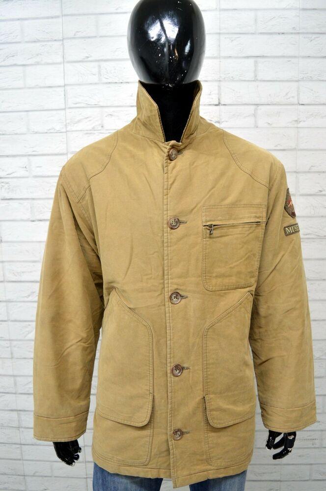 newest be916 64158 Giubbino MUSEUM Cappotto Uomo Taglia Size XXL Jacket ...