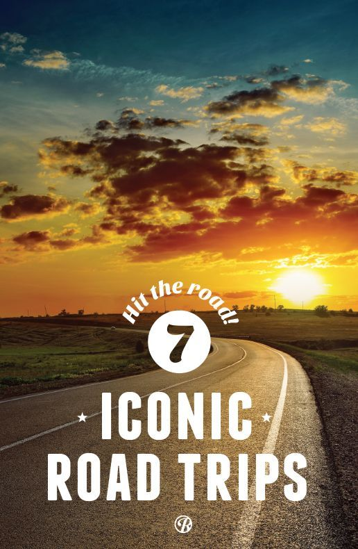 Inspired to take a road trip, but not sure where to go? You could just hit the road, or you could do one of these iconic road trips and find out what makes them American classics!