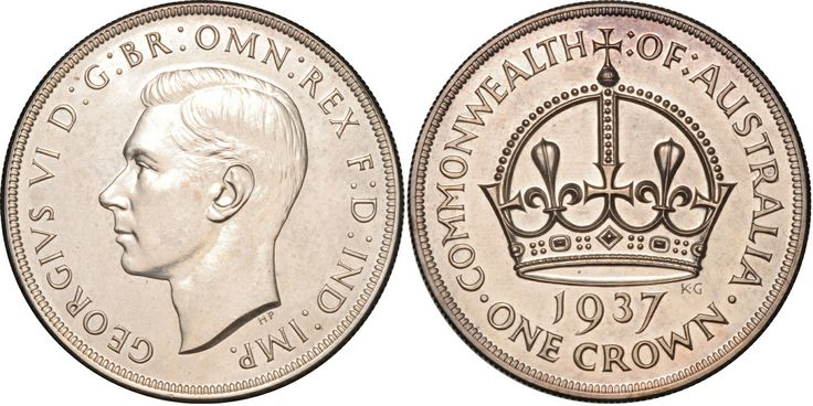 1937 Crown Proof