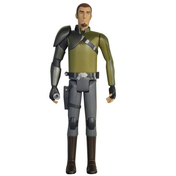 Figura Kanan 50 cm. Star Wars Rebels. Jakks Pacific Estupenda figura articulada del humano Kanan de 50 cm de altura 100% oficial y licenciada perteneciente a la serie animada de TV Star Wars Rebels.