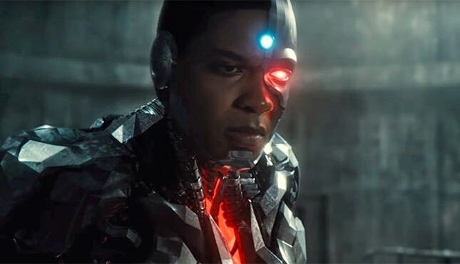 Ray Fisher as Cyborg / Justice League 2017