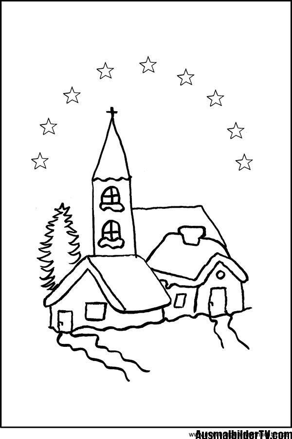Ausmalbilder Weihnachten Kostenlos Malvorlagen 9