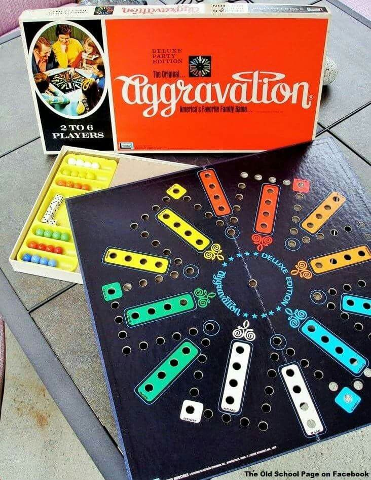 Aggravation game.