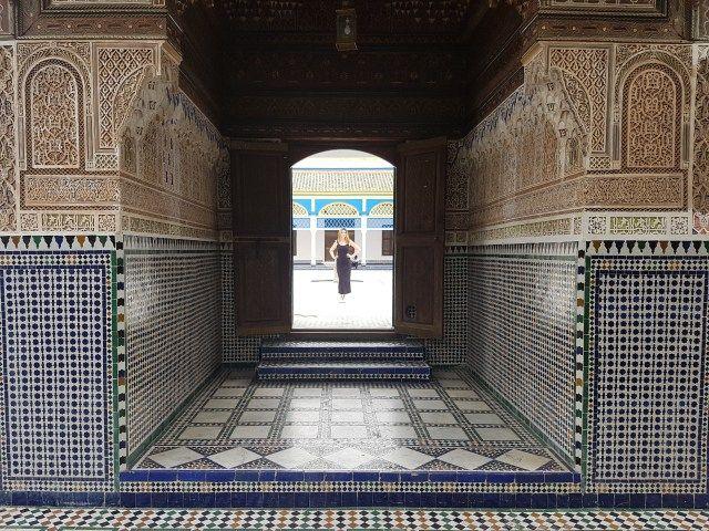 My amazing trip in Marrakech - Bahia Palace