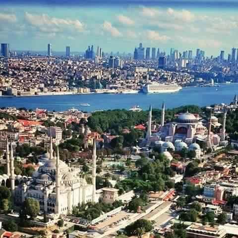 Историческийцентргорода. Стамбул город на двух континентах.Экскурсии по Стамбулу и Турции. www.russkiygidvstambule.com