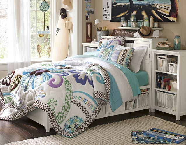 That cute duckie wallpaper or nautical furniture set were great for your child's baby years and just barely tolerable through elementary school, but a bedroom makeover is hard to get around when a child heads for the tumultuous teens.