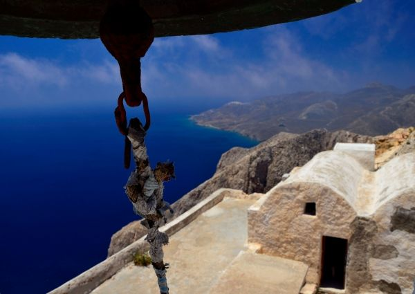 Monastery of Kalamiotissa Anafi island - Greeka.com | Greece | Greek islands