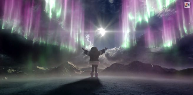 """Heroes Reborn: The Aurora Super Bowl Ad. 16 seconds long, totally puts the """"tease"""" in teaser trailer."""