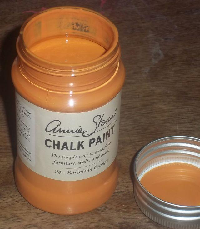 Annie Sloan krijtverf Barcelona Orange 100 ml
