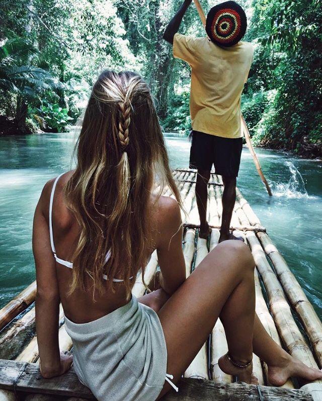 Alexis Ren in Jamaica