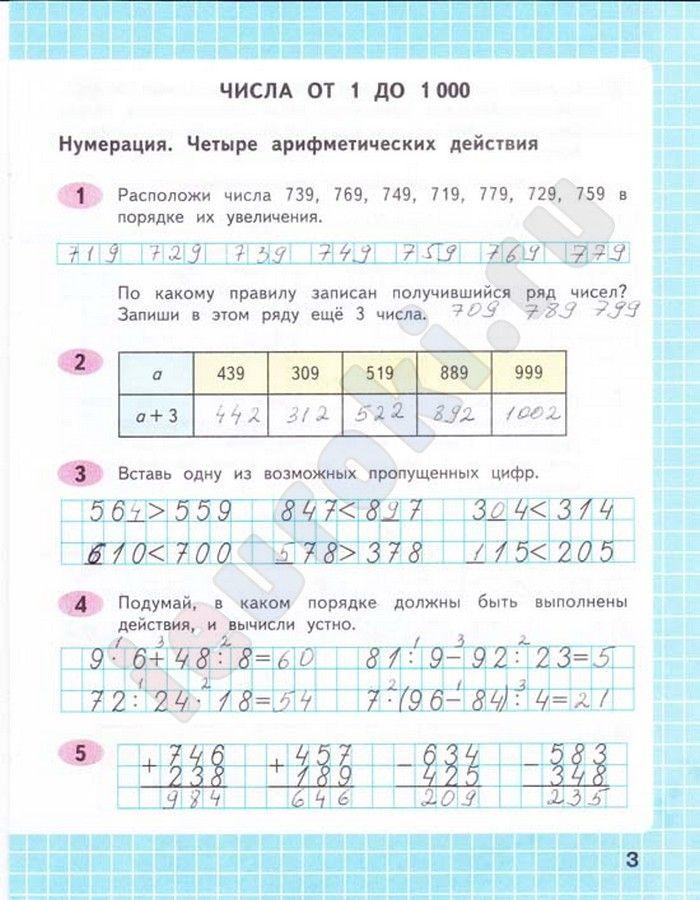 Готовые домашние задания скачать бесплатно 4 класс