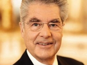 Austrian President Heinz Fischer -   Heinz Fischer, GColIH is the President of Austria. He took office on 8 July 2004 and was re-elected for a second and last term on 25 April 2010. Wikipedia     Born: October 9, 1938 (age 76), Graz, Austria    Spouse: Margit Fischer (m. 1968)    Office: President of Austria since 2004