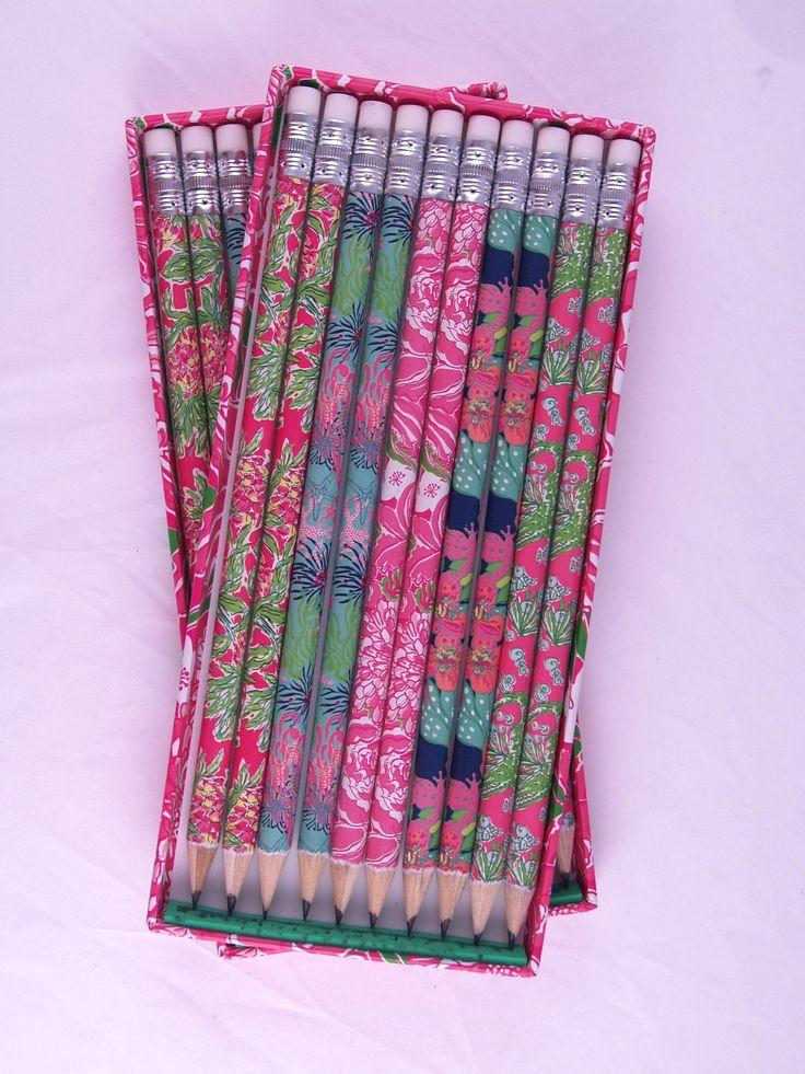 Lilly Pulitzer Pencil Set