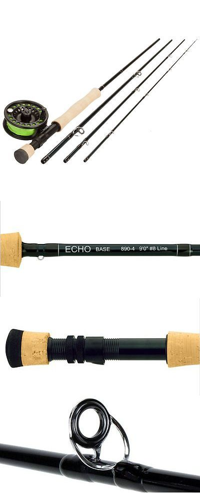 Fly Fishing Combos 33973: Echo Base Kit 890-4 9 Ft #8 Wt 4 Pc Fly Rod Includes Reel, Line, Leader And Case -> BUY IT NOW ONLY: $179.95 on eBay!
