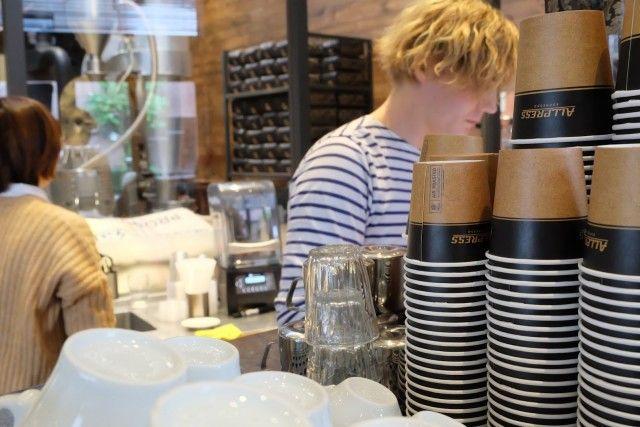 Allpress' espresso Новозеландский бренд-специализируется на молочной основе эспрессо напитков и их предложения, безусловно , удовлетворит любителей латте