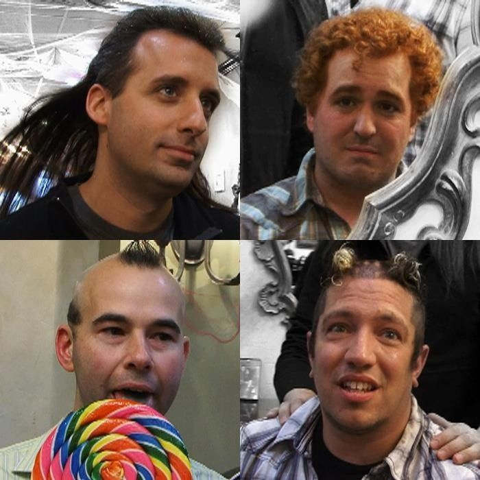 lol hahahahahah omg cant stop laughing-scene from Impractical Jokers ---Twitter pic