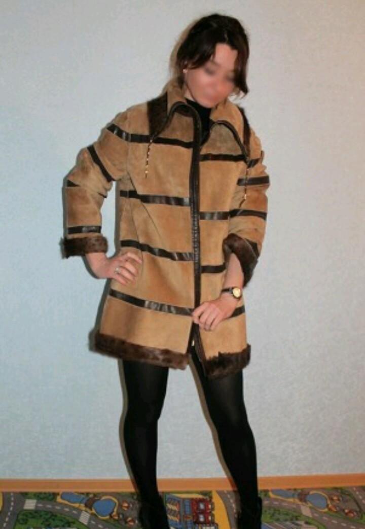 Куртка из меха стриженой козы – купить в Краснодаре, цена 17 000 руб., дата размещения: 01.04.2017 – Верхняя одежда
