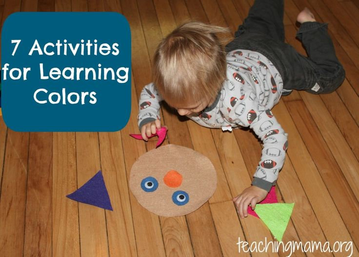 When will my 2-year-old know his colors? | BabyCenter