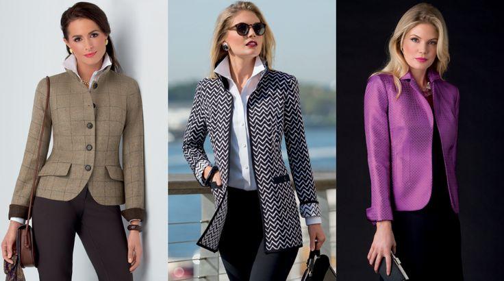 Nina McLemore - the power blazer.  Designer to the political stars (Clinton, Warren, Yellon)  Fashion for smart, confident women on the go.