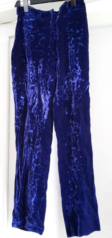 Pantaloni vintage velluto Valentino Vzone di BeaVintageMirabilia