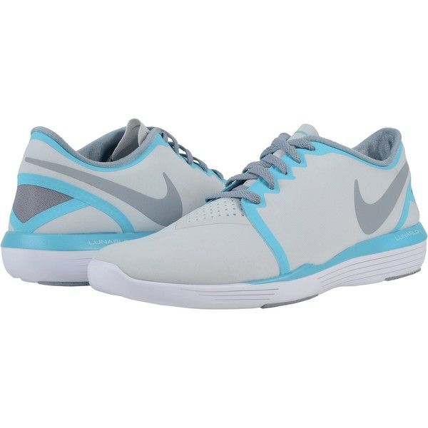 Nike Lunar Sculpt (Pure Platinum/Gamma Blue/Stealth) Women's Cross... (1,690 MXN) ❤ liked on Polyvore featuring shoes, athletic shoes, grey, nike footwear, nike athletic shoes, grip shoes, lightweight training shoes and crosstraining shoes
