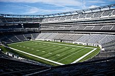 New York Giants - MetLife Stadium - ''The New Meadowlands'' - Capacity: 82,500 - 2010 to Present - (Stadium Formerly Named New Meadowlands Stadium 2010 & MetLife Stadium 2011 to Present)