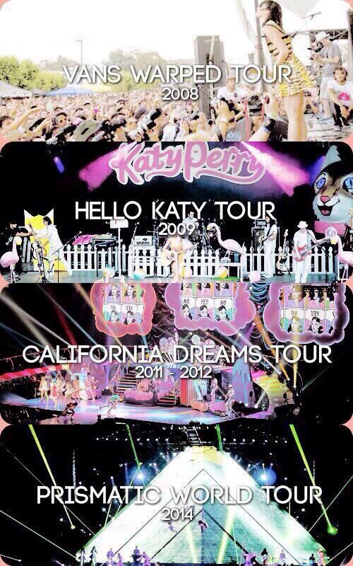 It gets better every year. prismatic is my fav but the california dreams tour was pretty rockin as well :) ❤️