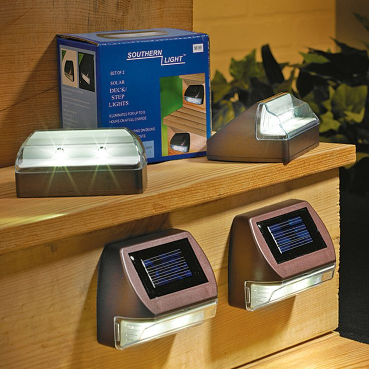 17 best ideas about solar step lights on pinterest solar lights for yard solar powered - Solar deck lights for steps ...