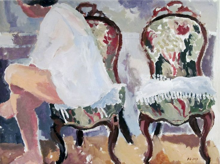 'Bedroom Chairs' by Brita Granström