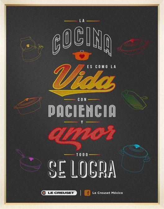 #Frases de #Cocina @LeCreusetMexico ¡Si te gustó comparte!